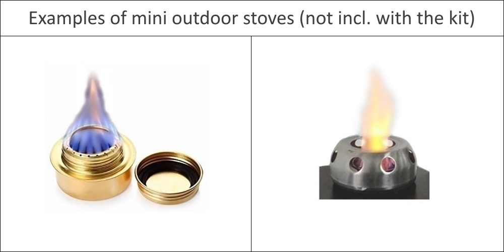 Mini outdoor stoves
