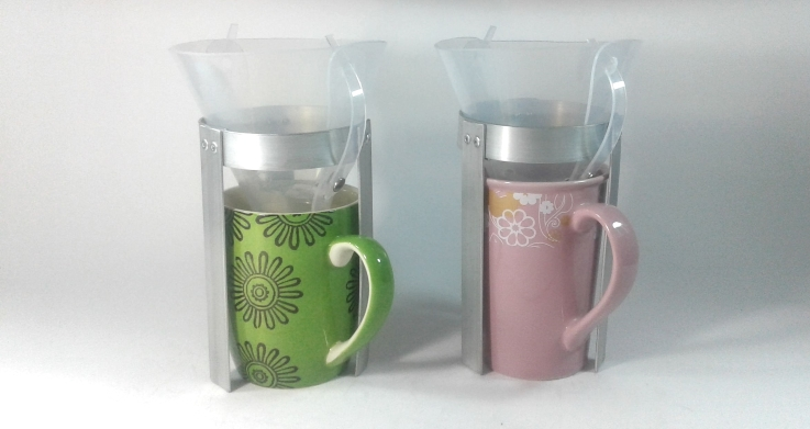 Travelers Coffee Kit - larger coffee mugs